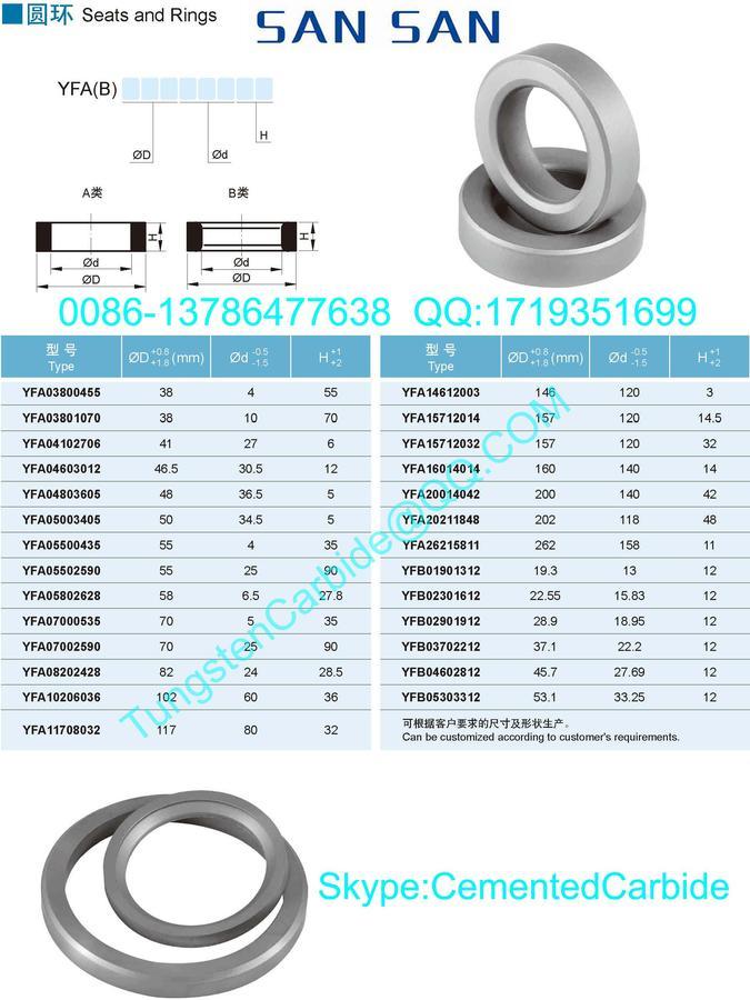 硬质合金圆环